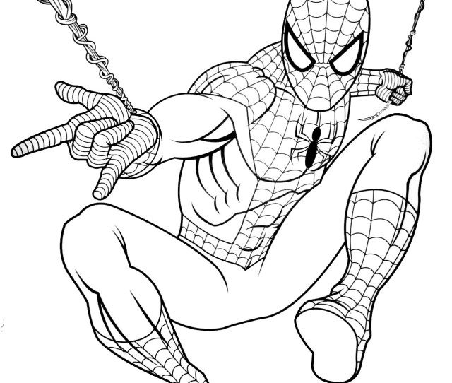Spiderman To Download For Free Spiderman Kids Coloring Pages