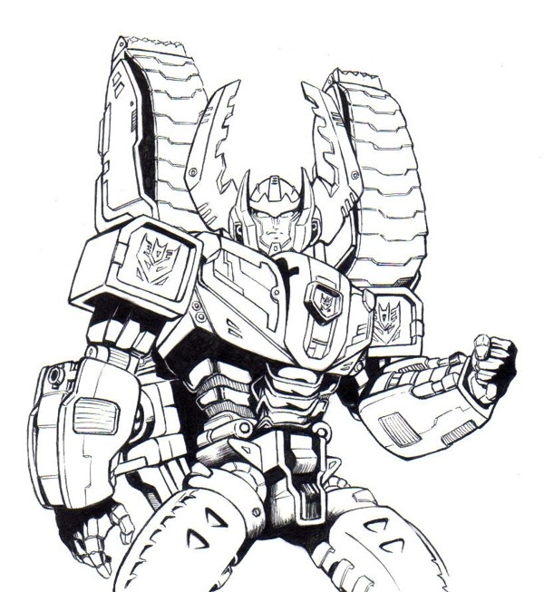 Transformers To Color For Children Transformers Kids Coloring Pages