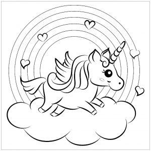unicorn color pages # 39