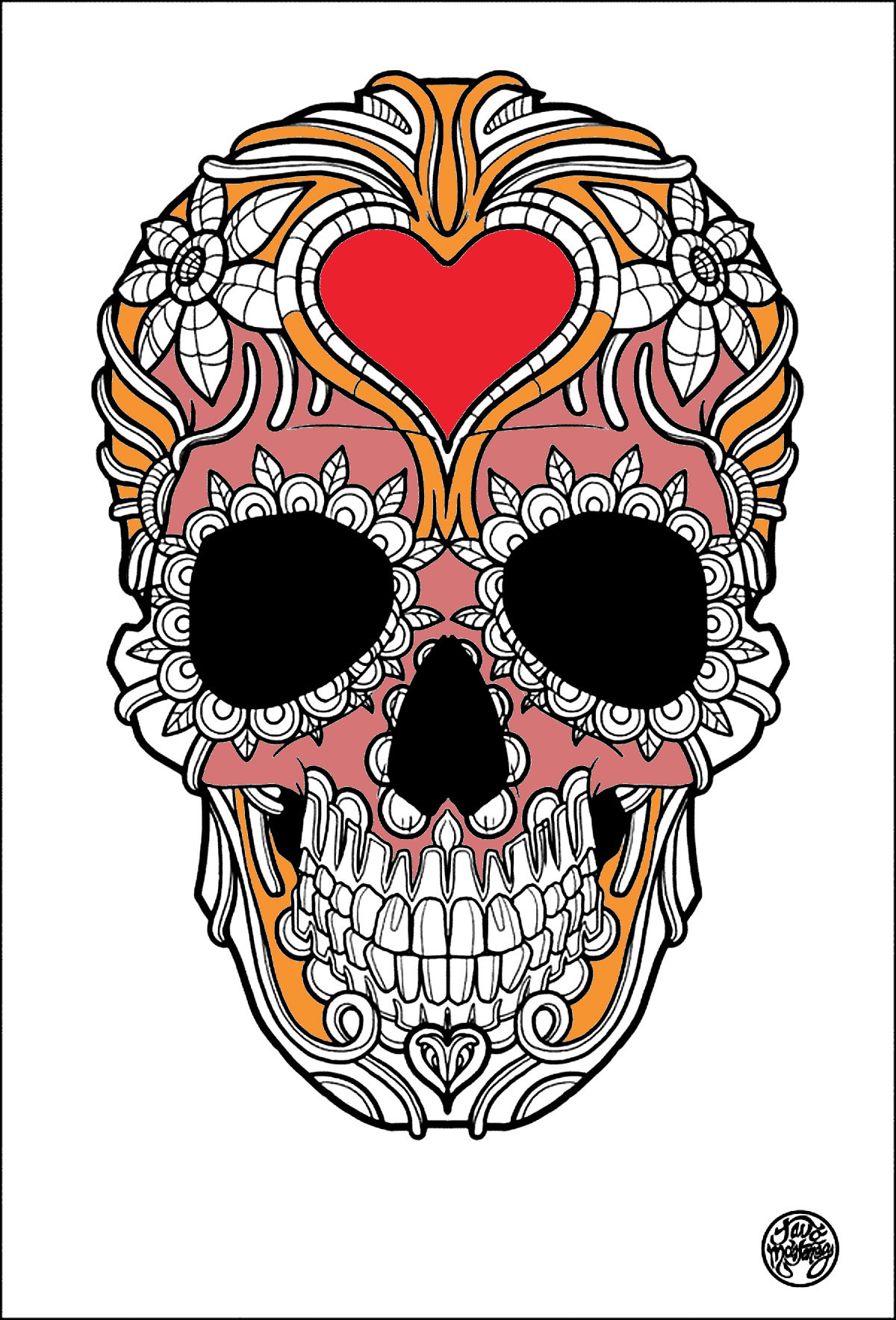 Tattoos Coloring Pages For Adults JustColor