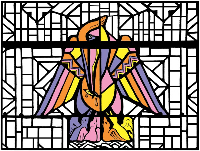 Stained Glass - Coloring Pages for Adults