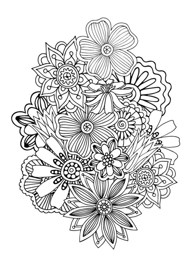 Abstract - Coloring Pages for Adults