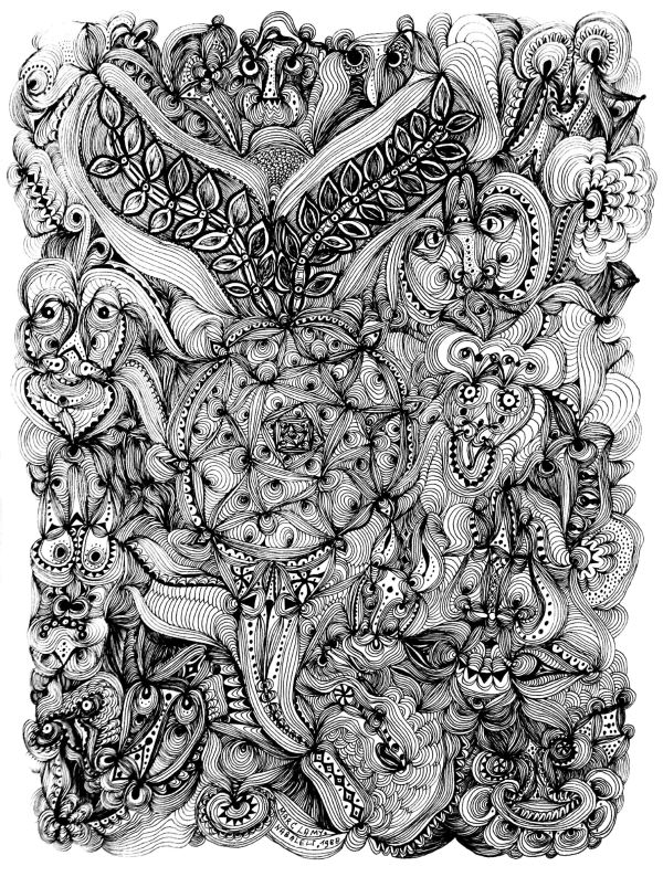 Art Adult Coloring Pages