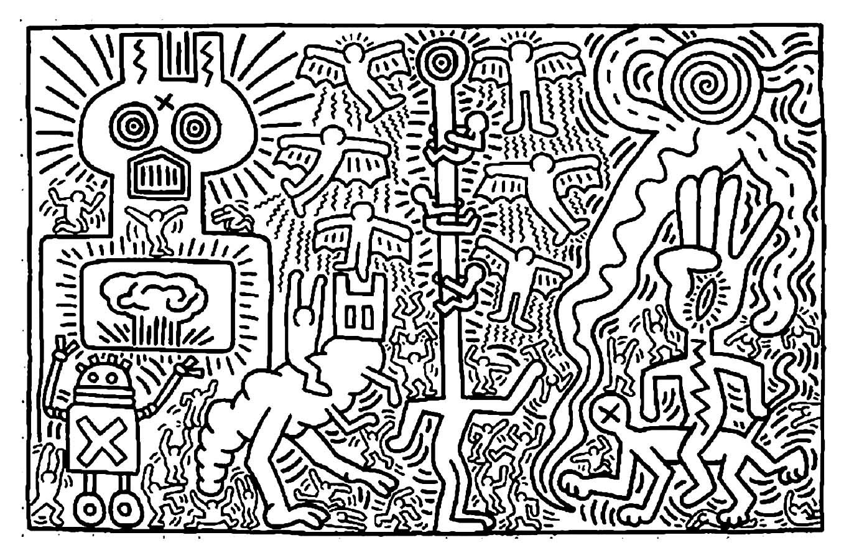 Keith Haring 2 Masterpieces