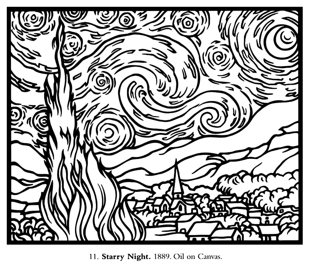 Van Gogh Starry Night Large