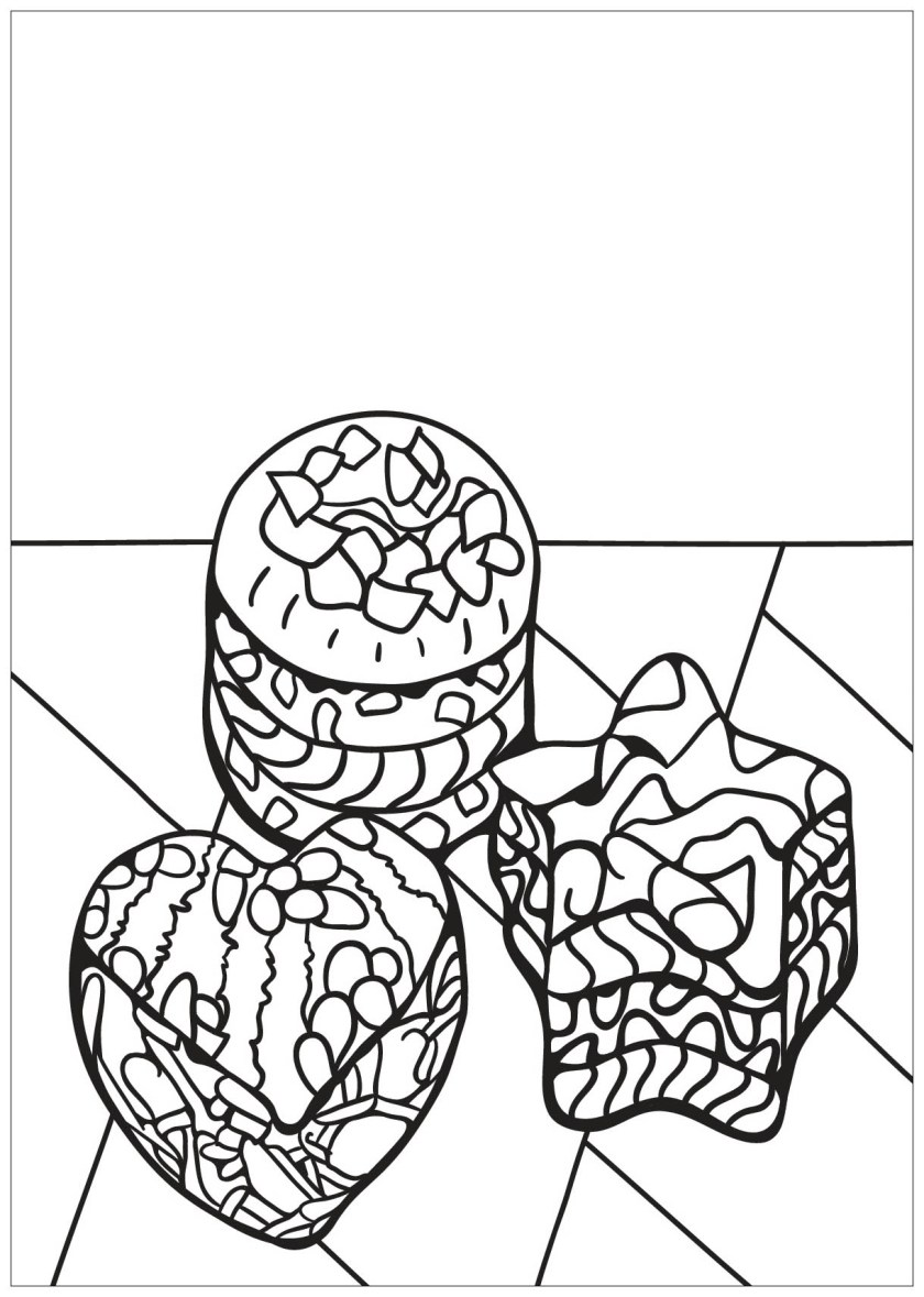 free book cupcake 9  cupcakes adult coloring pages