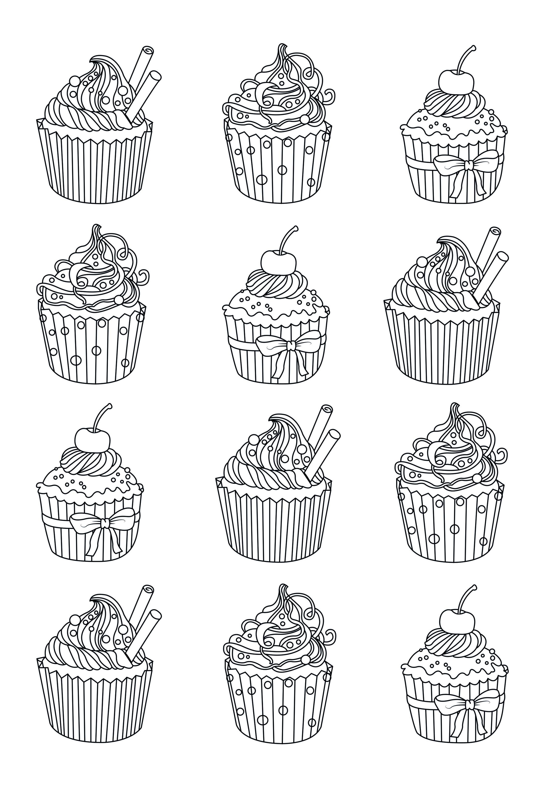 Cupcakes Easy Celine