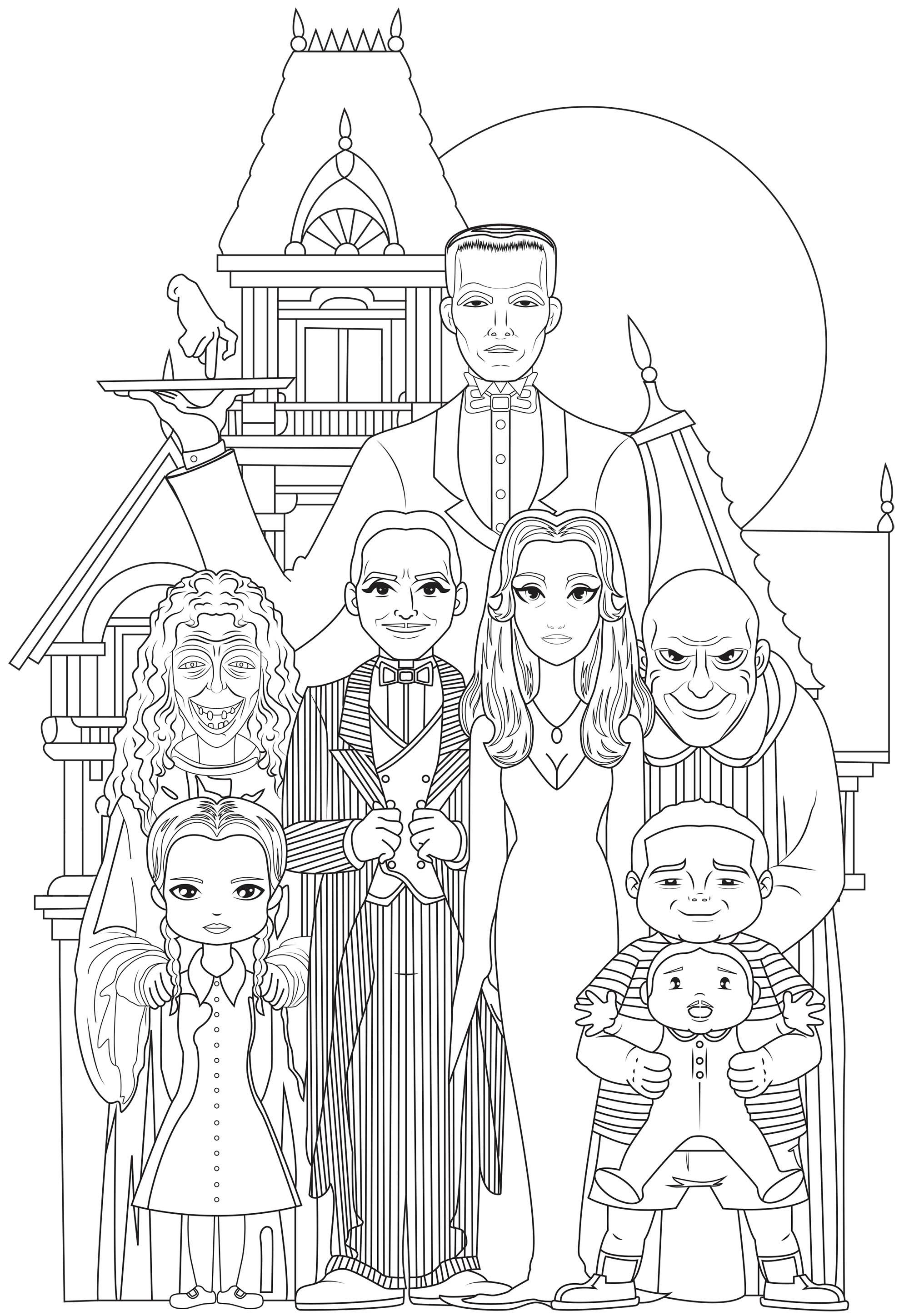 Famille Adams 2
