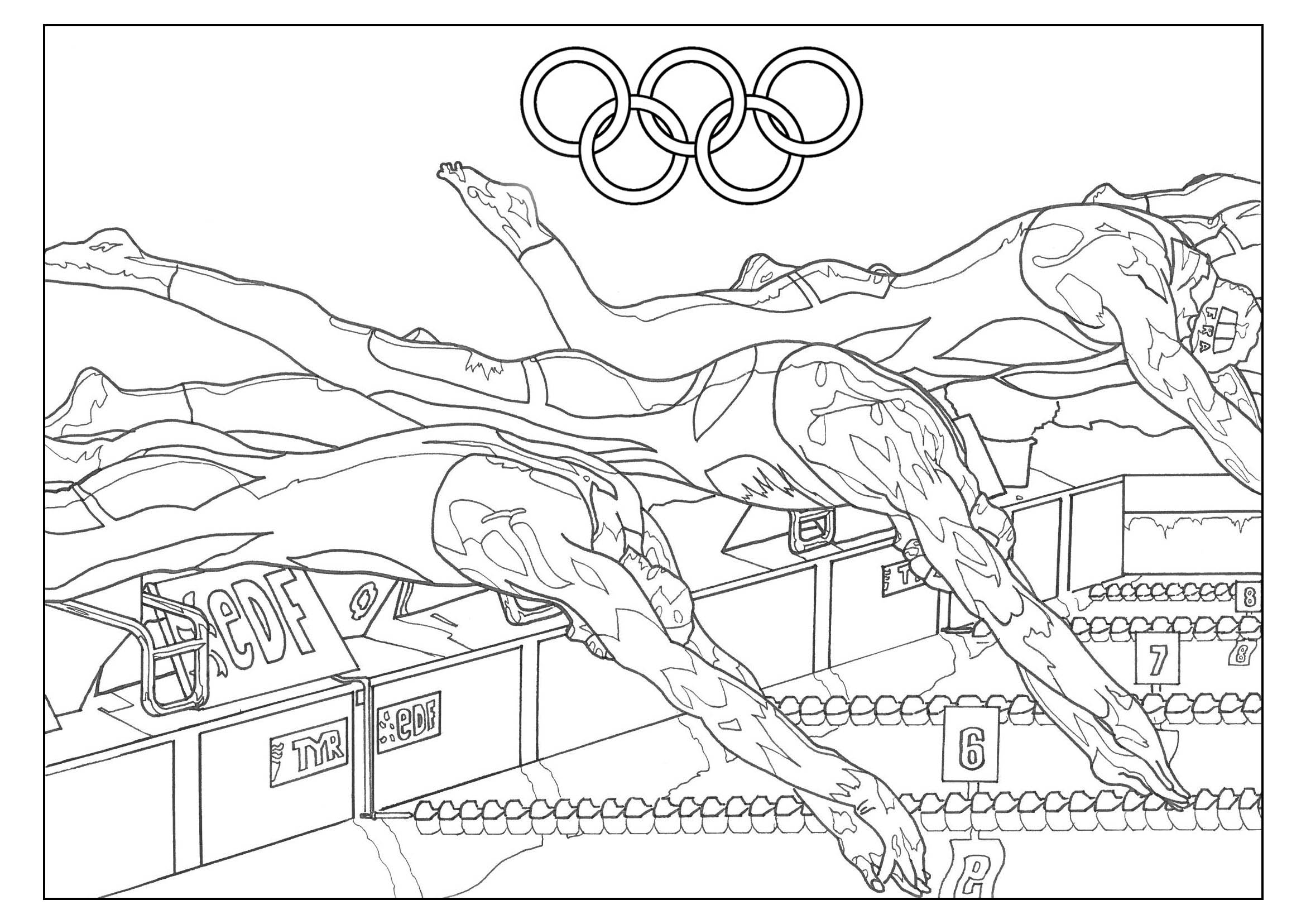 Olympic Games Swimming