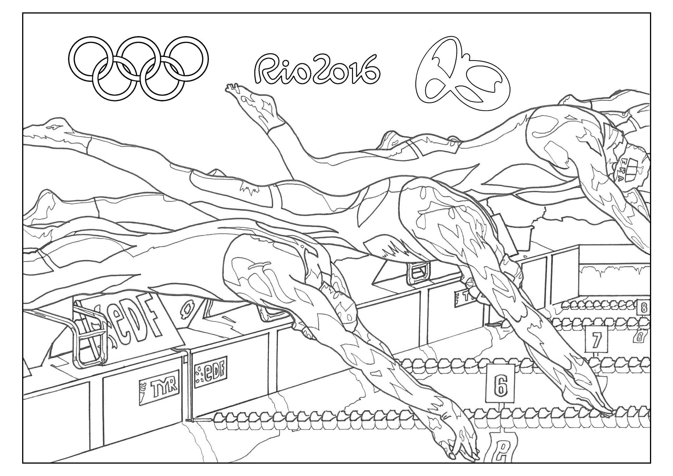 Rio Olympic Games Swimming