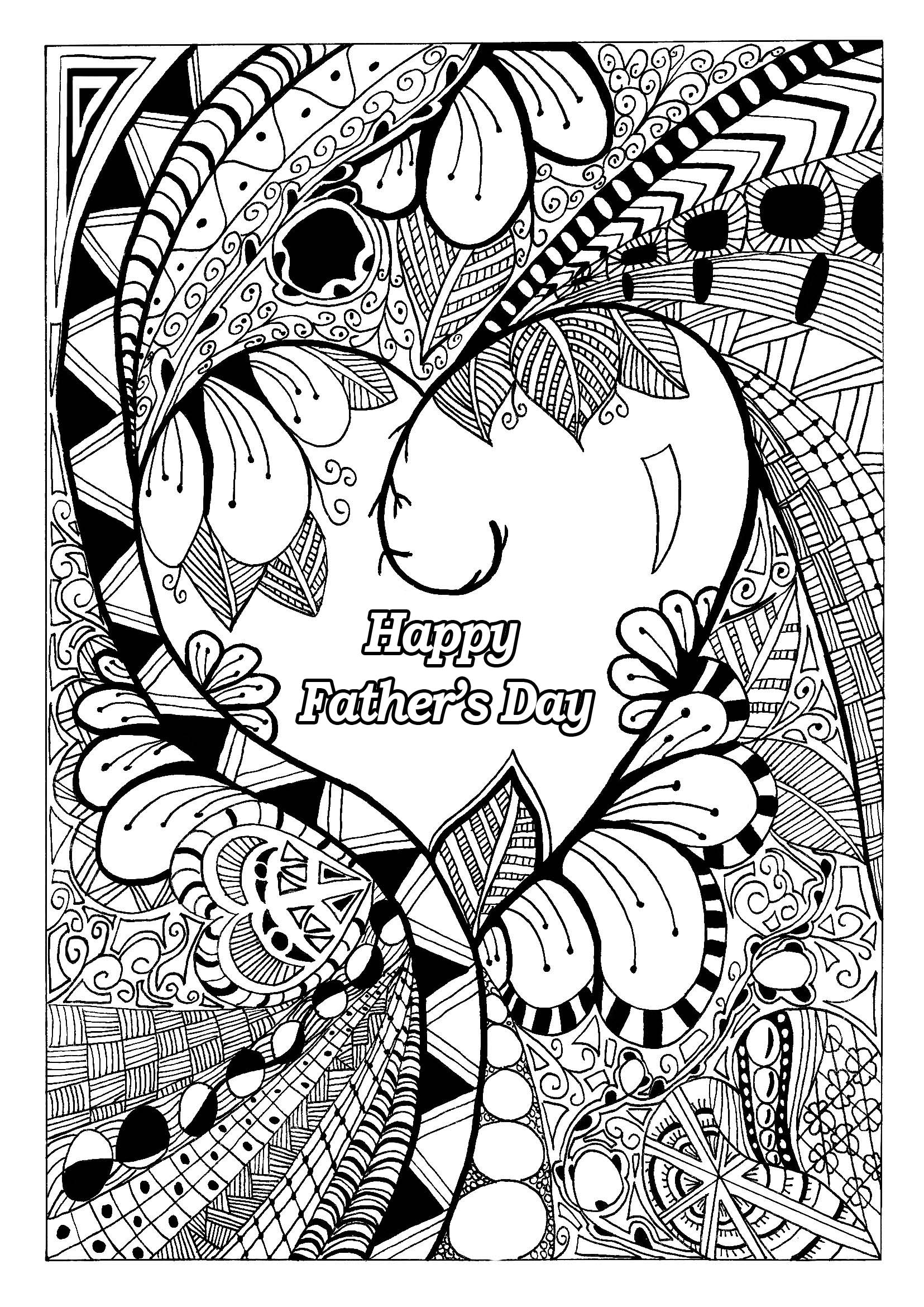 Coloring Pages For Fathers Day Free Coloring Pages Download | Xsibe ...