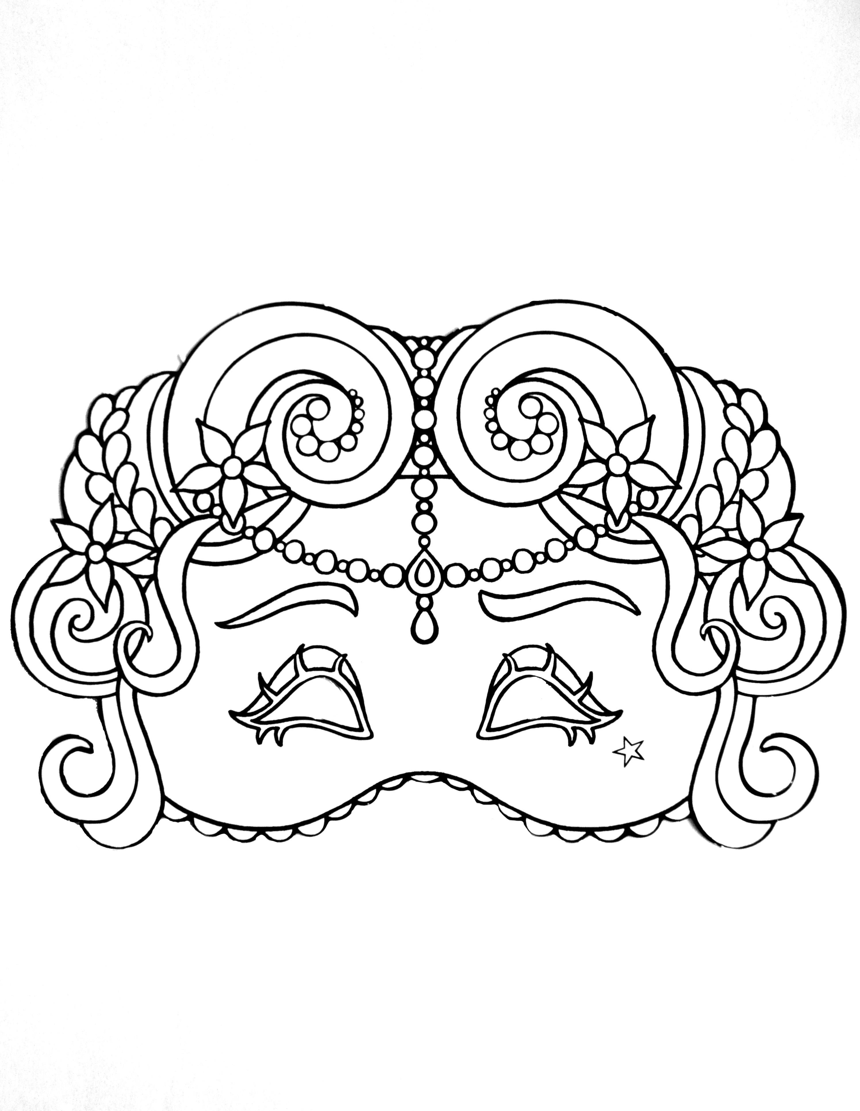 Carnival Mask For Kid 1