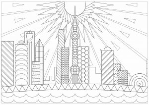 Adult Coloring Pages · Download and Print for Free