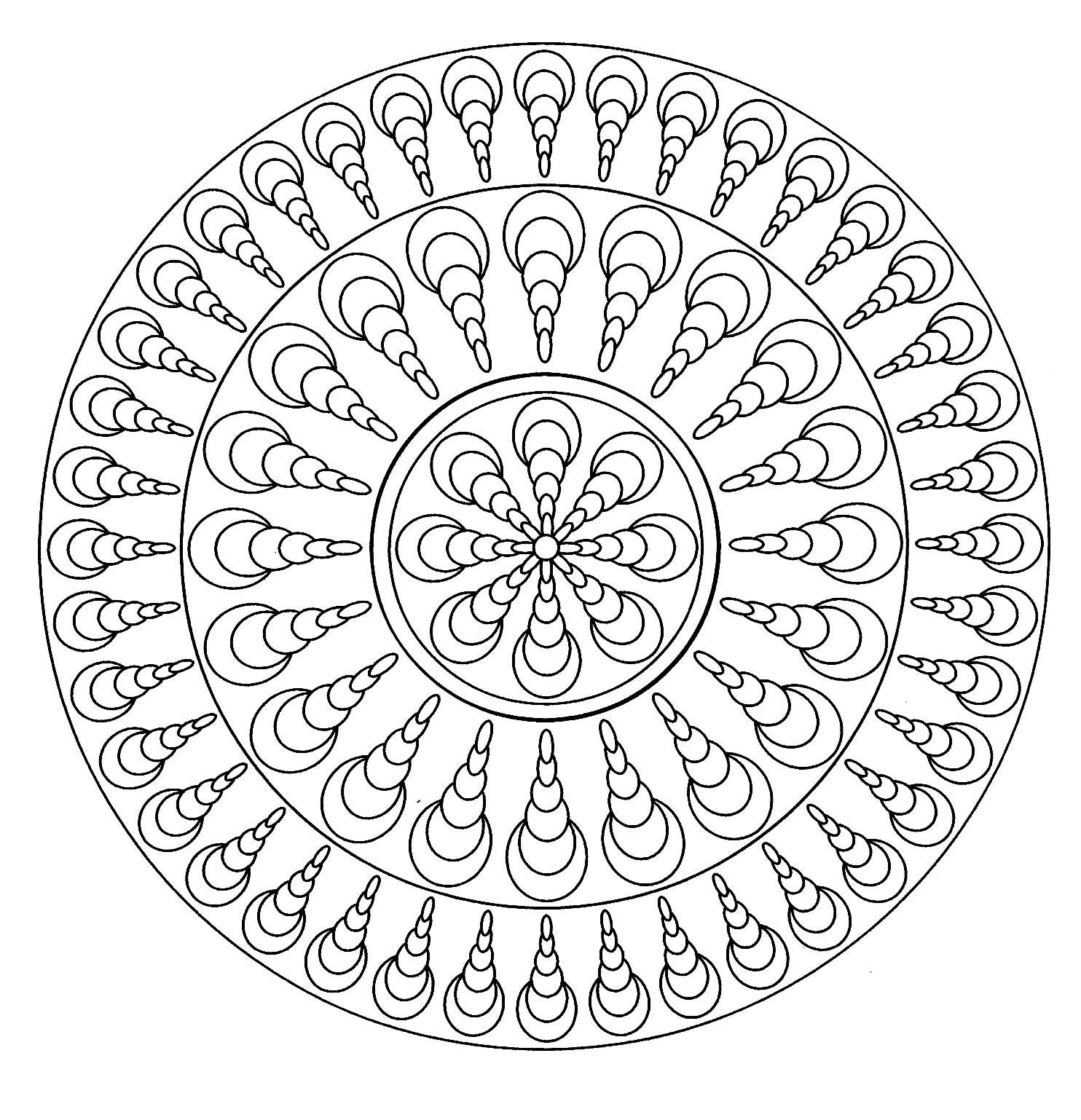 Simple Mandala 4
