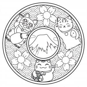 free mandala coloring pages for adults # 95