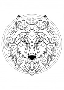 mandalas coloring pages for