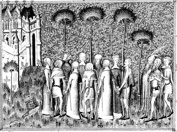 Middle Ages Coloring Pages for Adults