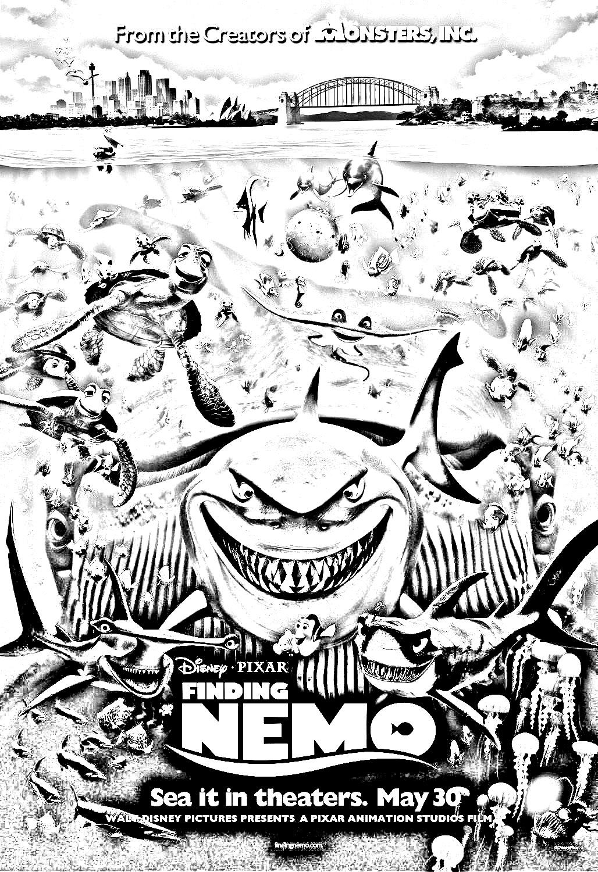 Movie Nemo Disney Pixar