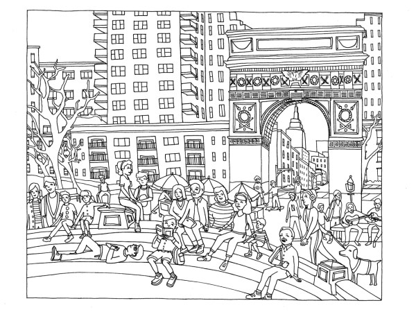 new york coloring pages # 3