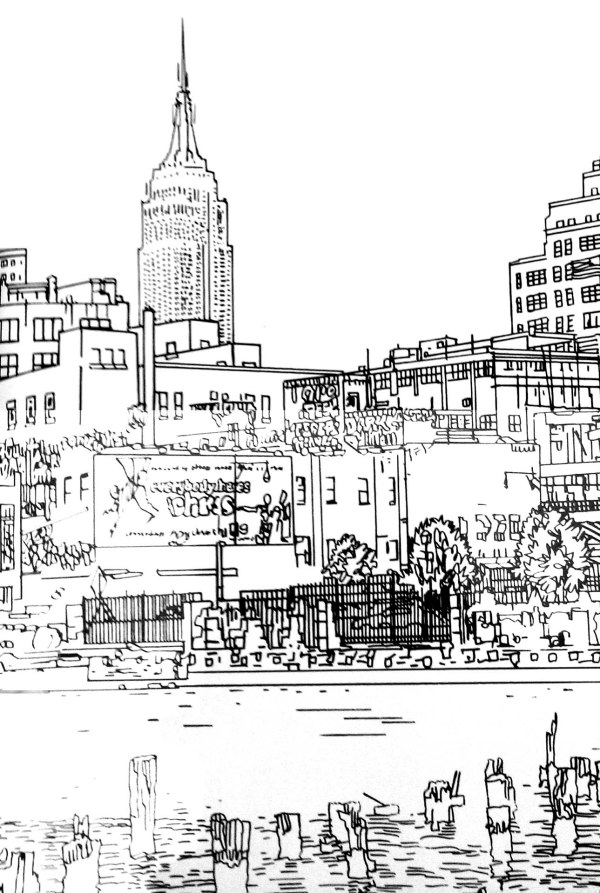 new york coloring pages # 36