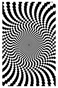 Op art big - Optical Illusions (Op Art) Adult Coloring Pages