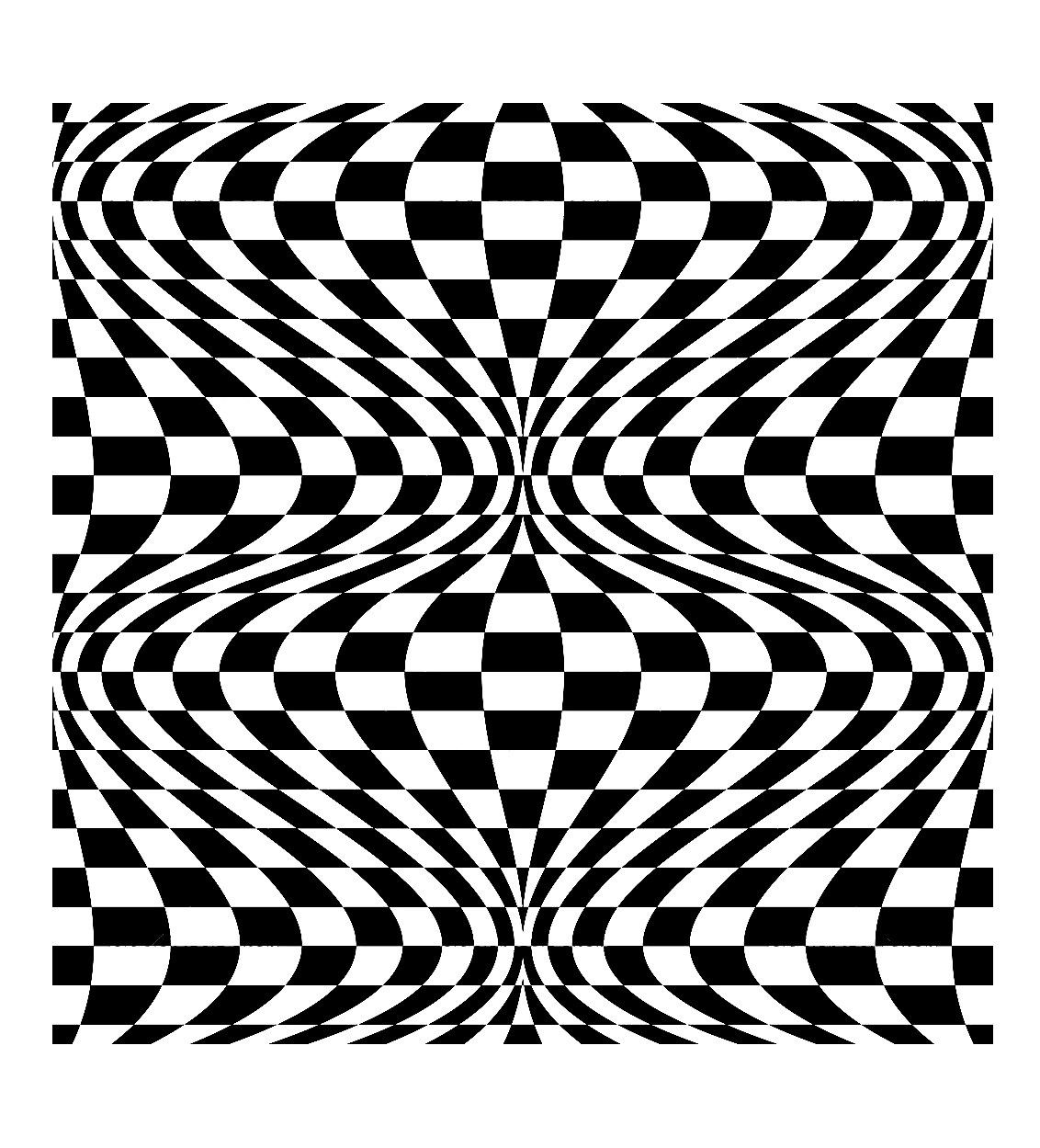 Op Art Illusion Optique 2
