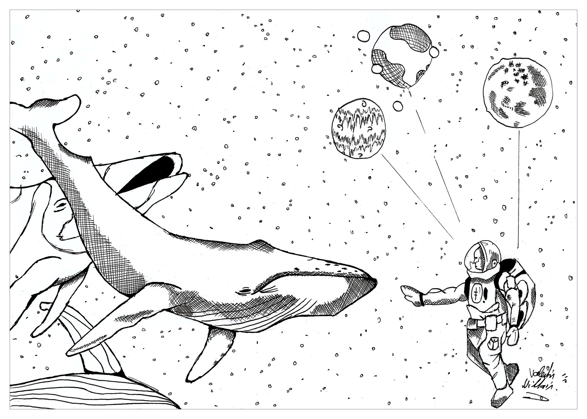 Astronaut Coloring Pages For Adults