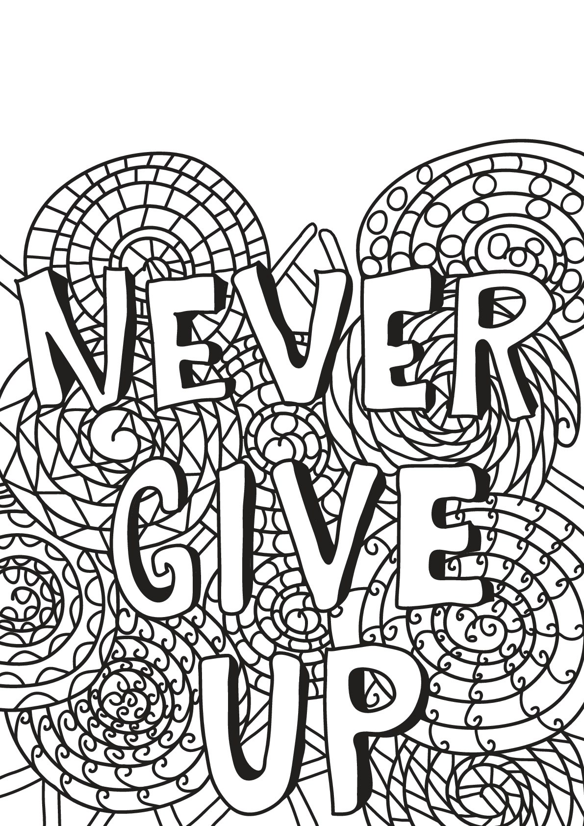 Free book quote 14 - Quotes Adult Coloring Pages | printable coloring pages for adults quotes