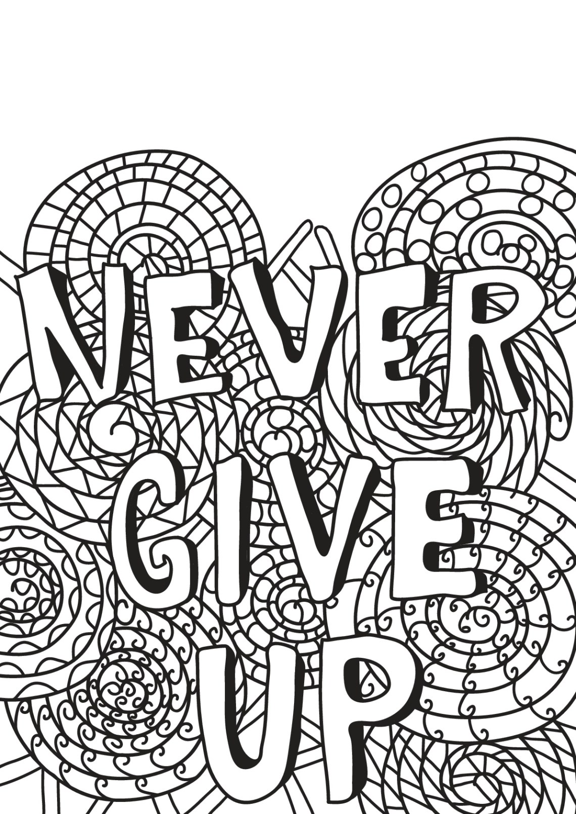 Free book quote 14 - Quotes Adult Coloring Pages | printable coloring sheets with quotes