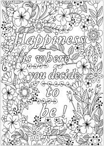 quotes coloring pages for