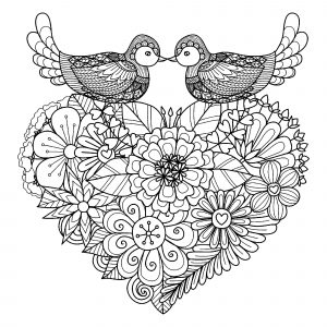 Valentine S Day Coloring Pages For Adults