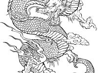 Coloring Tatouage Dragon Widescreen Page For Adults Adults Smartphone High Resolution Imageu Dtatoo Tattoos