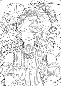 vintage coloring pages # 2