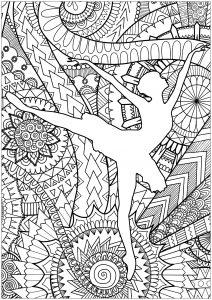 Pagine da Colorare per Adulti  Per scaricare e stampare gratuitamente  Disegni da colorare per