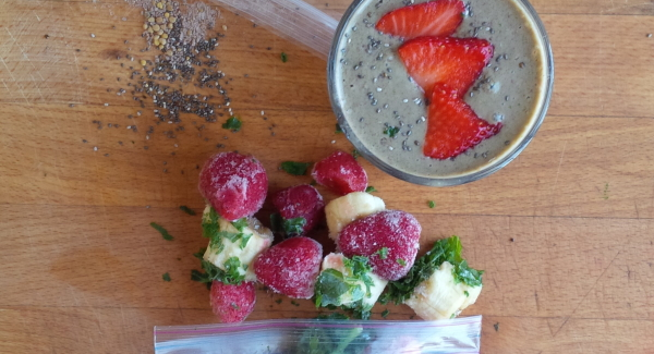 Smoothie Packs:  Breakfast in a Pinch