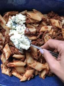 perfect make ahead pasta al forno