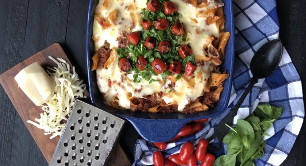 A Perfect Make Ahead Holiday Dish: Pasta Al Forno