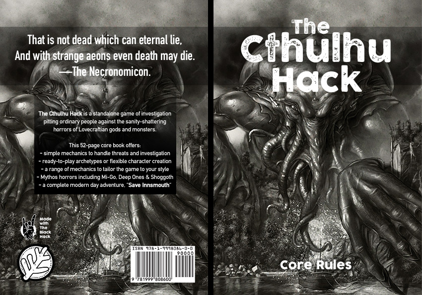 Cthulhu Hack Covered – Just Crunch