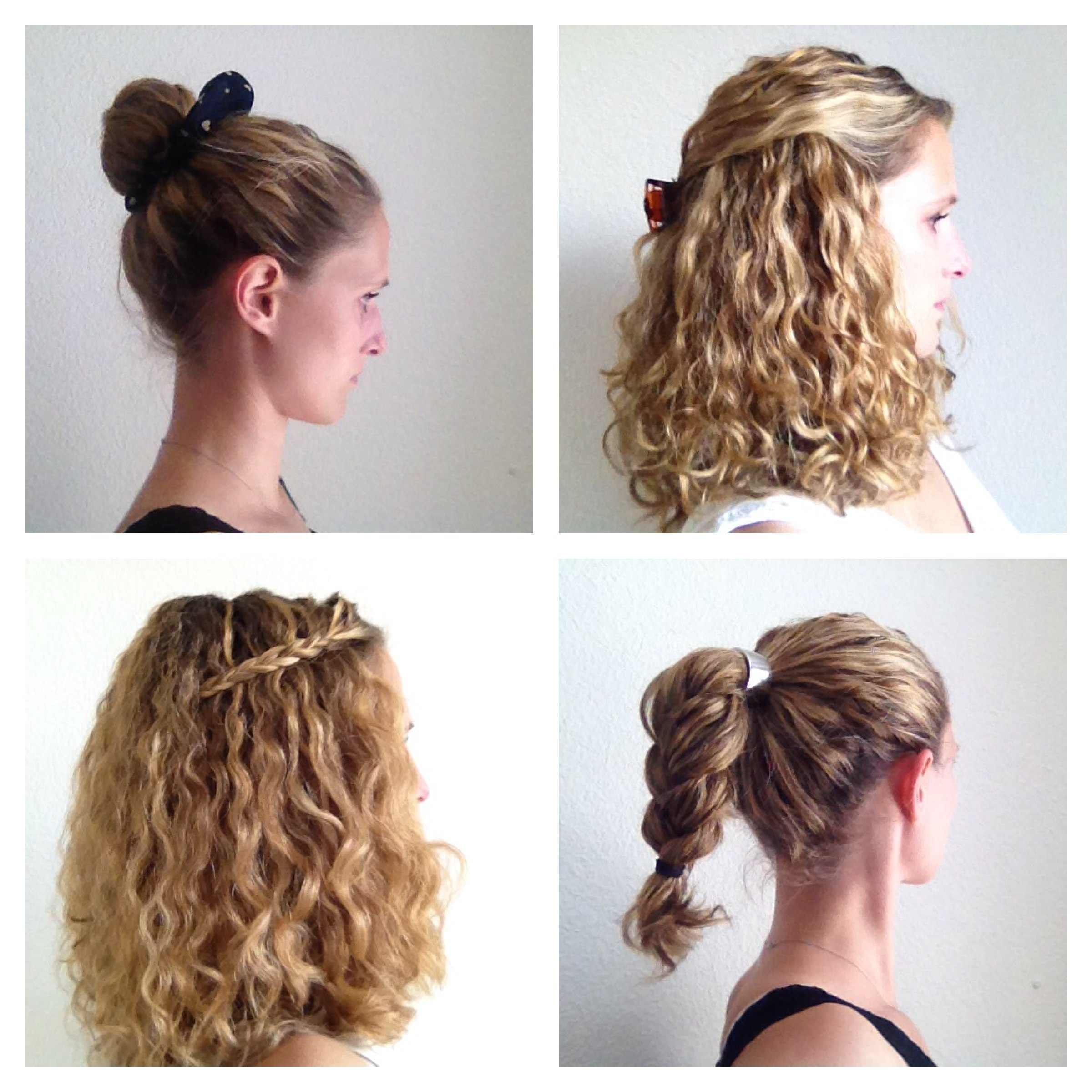 Four Styling Ideas For Curly Hair JustCurly Com