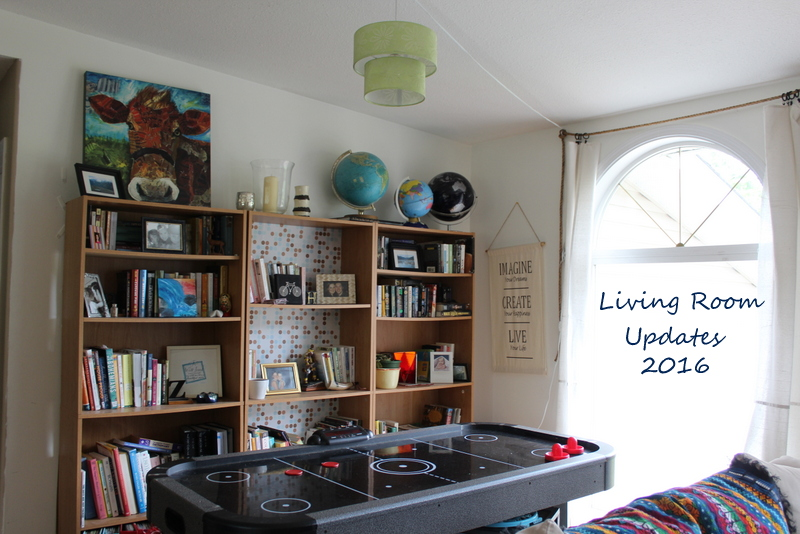 Living room updates -small space solutions