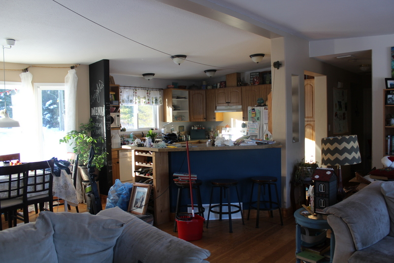 Decluttering and organizing in January