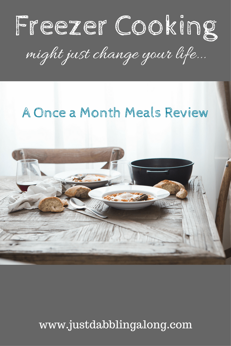 Once a Month Meals review