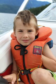 Always wear a life jacket in any boat!