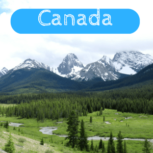 Travels within Canada