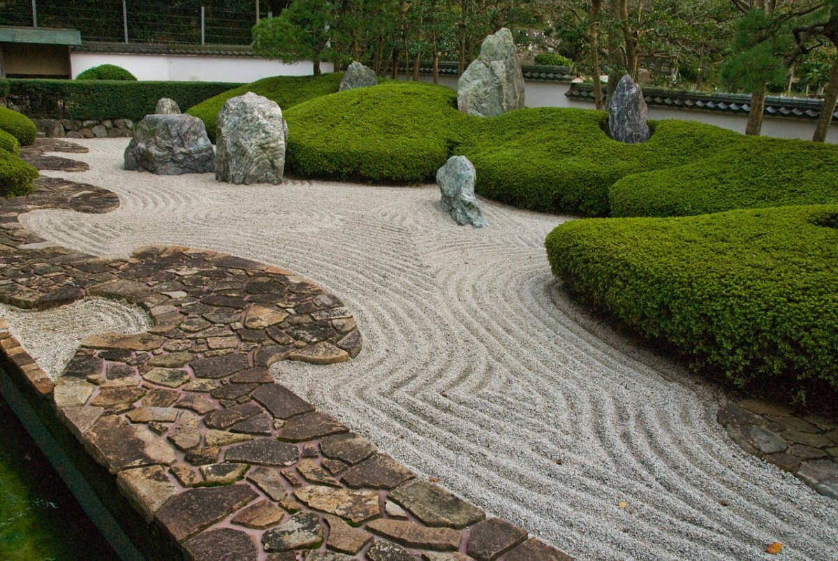 Simplicity and structure are key components of a Zen Garden