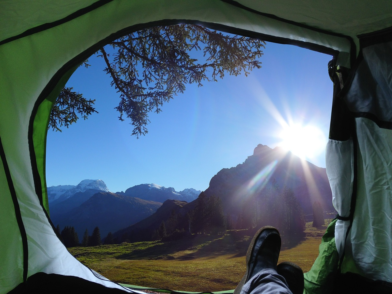 Fun things to do while camping and what to do if it rains