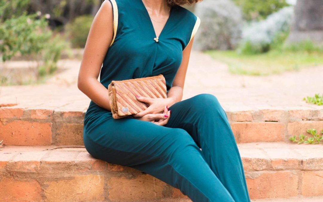 Special events series: Green jumpsuit as a wedding guest outfit