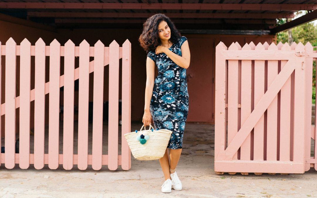Dare to wear: The floral bodycon dress