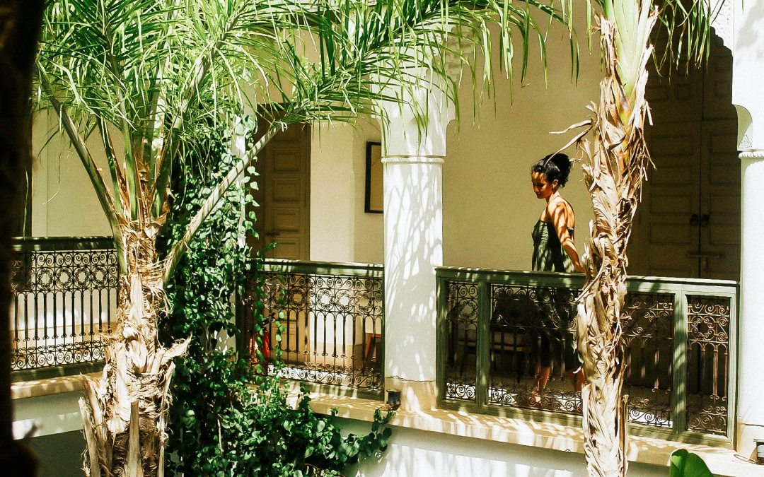 Living in a travelling artist house in Marrakech @RiadJaaneman