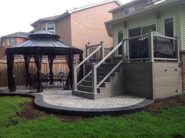 Composite Decks Burlington Oakville Mississauga Ontario